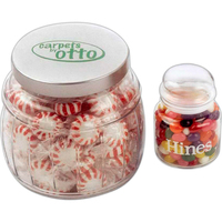 Jelly Beans in Large Apothecary Jar