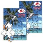 Puzzle with Custom 3D Lenticular Design