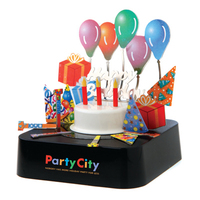 Color Birthday Party Magnetic Sculpture
