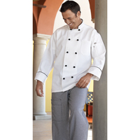 Barcelona Chef Coat - White