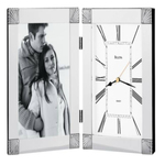 Bulova Ceremonial Clock and Picture Frame