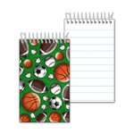 Mini-Notebook with Sports 3D Lenticular Effect