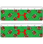 "6"" Ruler with American Football Design"