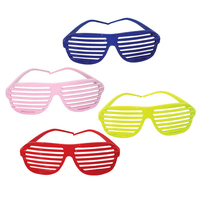 Slotted Party Sunglasses - E629