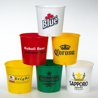 176 oz Plastic Beer Bucket / Brew Tub / Bottle Pail