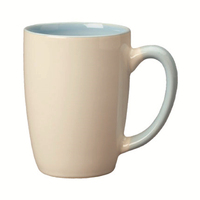 14 oz Two-Tone Ceramic Mug