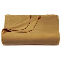 Camel Tan Bamboo Throw Blanket