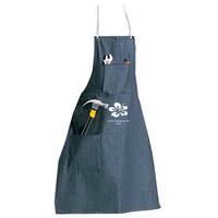 Standard weight cotton denim apron