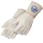 Heavy Weight Hot Mill Gloves with Burlap Lining