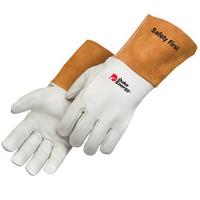 Grain cowhide MIG welder gloves