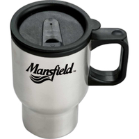 16 oz. Stainless Steel Sculptured Travel Mug