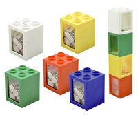 Stackable coin bank