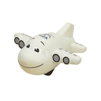 Smiley Face Plane Shaped Stress Reliever