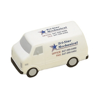 Service Van Shaped Stress Reliever