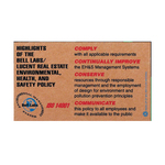 Corrugated Jumbo Business Card Magnet