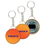Keychain Bottle Opener, Orange/Red Color Changing