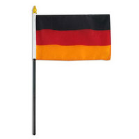 "Germany 4"" x 6"" Flag"