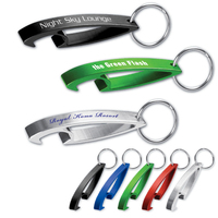 Shark™ Bottle Opener Key Tag - Green