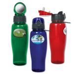 Brand Gear Sports Water Bottle (TM) - Translucent Blue