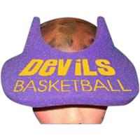 Devil Horns Foam Pop-Up Visor