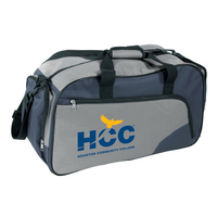 Two tone sport bag 600D polyester
