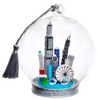 Chicago Cityscape Memory Globe