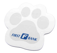 Paw Shaped Note Pad