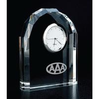 Crystal Arch Award Clock