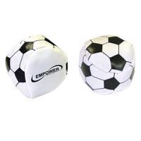 """Semi-Soft Squeezable Soccer Kickballs, 2"""" - E670"""