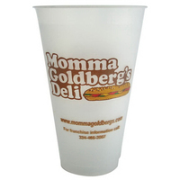 Frosted Flex 20 Ounce Plastic Tumbler