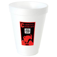 Foam Insulation 12 Ounce Hot Cold Foam Cup