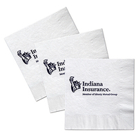 Custom Luncheon Facial 3 Ply Napkin