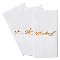 Custom Linen Feel Premium Dinner Napkin