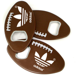 Football shape magnetic bottle opener