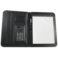 Leatherette Black Portfolio