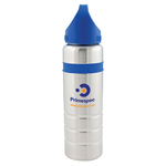 Two-Tone Stainless Steel Water Bottle