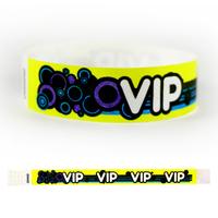 "Tyvek® 3/4"" Design VIP Groove Wristband"
