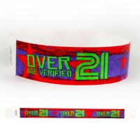"Tyvek® 3/4"" Design 21 Verified Wristband"