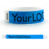"Tyvek® 1"" Solid Stock Color Wristband"