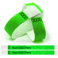 "Tyvek® 3/4"" Duplicate Number Wristbands"
