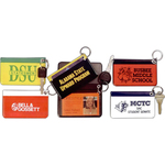 Padded Pass Case Key Rings
