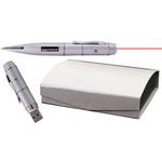 Laser pointer USB flash drive pen