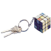 Mini twist cube keychain