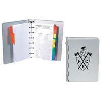 Mini-aluminum organizer planner