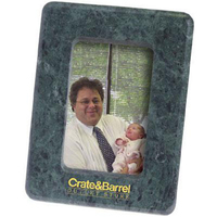 "Marble 3 1/2"" x 5"" photo frame with easel back"