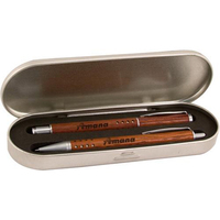 Techna rosewood pen set
