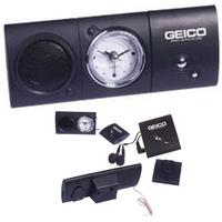 Digital FM scan radio with analog alarm clock