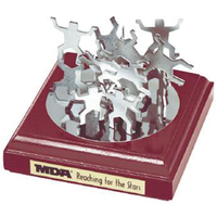 "Executive wood ""magic"" magnetic building set"