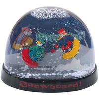 "3 3/4"" large dome 2-level water ball"