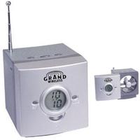 USB-powered desktop fan/clock radio